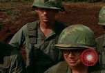 Image of Fourth Infantry Division Indoctrination Camp Enari Vietnam, 1967, second 53 stock footage video 65675021018