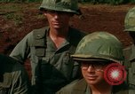Image of Fourth Infantry Division Indoctrination Camp Enari Vietnam, 1967, second 56 stock footage video 65675021018