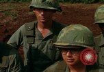 Image of Fourth Infantry Division Indoctrination Camp Enari Vietnam, 1967, second 57 stock footage video 65675021018