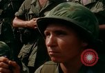 Image of Fourth Infantry Division Indoctrination Camp Enari Vietnam, 1967, second 58 stock footage video 65675021018