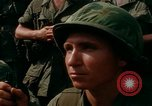 Image of Fourth Infantry Division Indoctrination Camp Enari Vietnam, 1967, second 59 stock footage video 65675021018