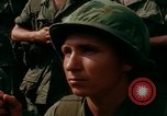 Image of Fourth Infantry Division Indoctrination Camp Enari Vietnam, 1967, second 62 stock footage video 65675021018