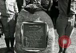 Image of Harry Brooks Memorial Tablet Detroit Michigan USA, 1928, second 40 stock footage video 65675021021
