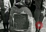 Image of Harry Brooks Memorial Tablet Detroit Michigan USA, 1928, second 41 stock footage video 65675021021
