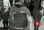 Image of Harry Brooks Memorial Tablet Detroit Michigan USA, 1928, second 42 stock footage video 65675021021