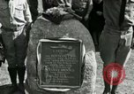 Image of Harry Brooks Memorial Tablet Detroit Michigan USA, 1928, second 43 stock footage video 65675021021