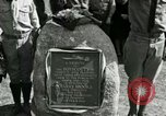 Image of Harry Brooks Memorial Tablet Detroit Michigan USA, 1928, second 44 stock footage video 65675021021