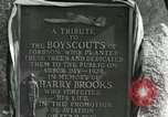 Image of Harry Brooks Memorial Tablet Detroit Michigan USA, 1928, second 45 stock footage video 65675021021