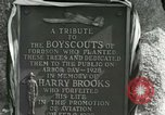 Image of Harry Brooks Memorial Tablet Detroit Michigan USA, 1928, second 47 stock footage video 65675021021