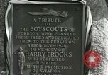 Image of Harry Brooks Memorial Tablet Detroit Michigan USA, 1928, second 51 stock footage video 65675021021