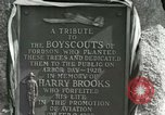 Image of Harry Brooks Memorial Tablet Detroit Michigan USA, 1928, second 56 stock footage video 65675021021