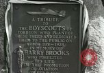Image of Harry Brooks Memorial Tablet Detroit Michigan USA, 1928, second 58 stock footage video 65675021021