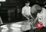 Image of Ford Tri Motor Production Dearborn Michigan USA, 1928, second 54 stock footage video 65675021051