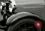 Image of Parts of Ford car United States USA, 1927, second 38 stock footage video 65675021054