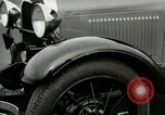 Image of Parts of Ford car United States USA, 1927, second 40 stock footage video 65675021054