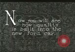 Image of Parts of Ford car United States USA, 1927, second 2 stock footage video 65675021055
