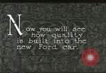 Image of Parts of Ford car United States USA, 1927, second 3 stock footage video 65675021055