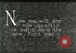 Image of Parts of Ford car United States USA, 1927, second 5 stock footage video 65675021055
