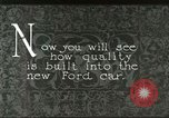 Image of Parts of Ford car United States USA, 1927, second 6 stock footage video 65675021055