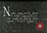 Image of Parts of Ford car United States USA, 1927, second 8 stock footage video 65675021055