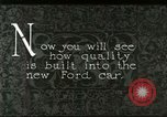 Image of Parts of Ford car United States USA, 1927, second 10 stock footage video 65675021055