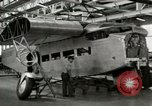 Image of Ford All Metal Tri Motor Production United States USA, 1926, second 14 stock footage video 65675021056
