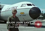 Image of Military Airlift Command airlifts troops and equipment United States USA, 1976, second 51 stock footage video 65675021077