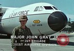 Image of Military Airlift Command airlifts troops and equipment United States USA, 1976, second 53 stock footage video 65675021077
