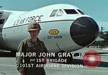Image of Military Airlift Command airlifts troops and equipment United States USA, 1976, second 54 stock footage video 65675021077