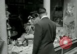 Image of Champs Elysees Paris France, 1956, second 6 stock footage video 65675021100