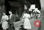 Image of Champs Elysees Paris France, 1956, second 53 stock footage video 65675021100