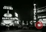 Image of Pigalle Paris France, 1956, second 30 stock footage video 65675021104