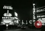 Image of Pigalle Paris France, 1956, second 31 stock footage video 65675021104