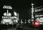 Image of Pigalle Paris France, 1956, second 32 stock footage video 65675021104