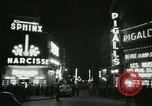 Image of Pigalle Paris France, 1956, second 34 stock footage video 65675021104