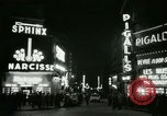 Image of Pigalle Paris France, 1956, second 37 stock footage video 65675021104