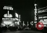 Image of Pigalle Paris France, 1956, second 38 stock footage video 65675021104