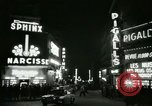 Image of Pigalle Paris France, 1956, second 40 stock footage video 65675021104