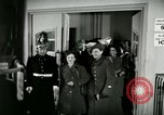 Image of Stage Door Canteen Paris France, 1945, second 46 stock footage video 65675021105