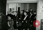 Image of Stage Door Canteen Paris France, 1945, second 53 stock footage video 65675021105