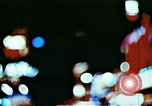 Image of Times Square neon lights in rain New York City USA, 1954, second 6 stock footage video 65675021110