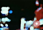 Image of Times Square neon lights in rain New York City USA, 1954, second 8 stock footage video 65675021110
