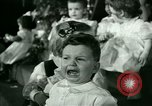 Image of Christmas party New York United States USA, 1947, second 43 stock footage video 65675021113