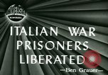 Image of Italian prisoners liberated Ancona Italy, 1946, second 4 stock footage video 65675021131