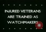 Image of Disabled veterans New York United States USA, 1945, second 2 stock footage video 65675021159