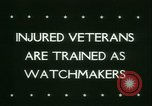 Image of Disabled veterans New York United States USA, 1945, second 3 stock footage video 65675021159