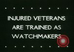 Image of Disabled veterans New York United States USA, 1945, second 4 stock footage video 65675021159
