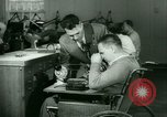 Image of Disabled veterans New York United States USA, 1945, second 39 stock footage video 65675021159