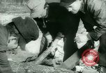 Image of German prisoners work in snow Northern United States USA, 1944, second 25 stock footage video 65675021169