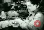 Image of German prisoners work in snow Northern United States USA, 1944, second 39 stock footage video 65675021169
